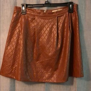 UO leather skirt